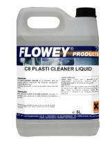 Flowey C8-5 - RESTAURADOR PLASTICO Y GOMA (LIMPIADOR NEUMATICOS) 5L